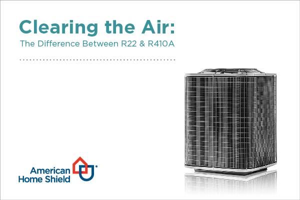 difference between R22 and R410