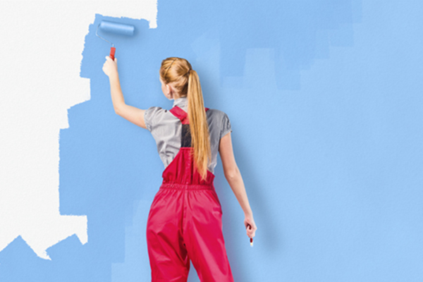 Painting accent walls decor
