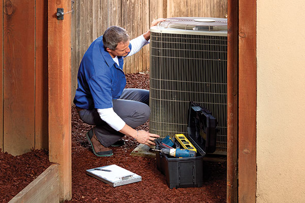 Heating and cooling ahs