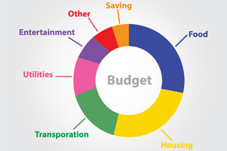 budget graphic shutterstock