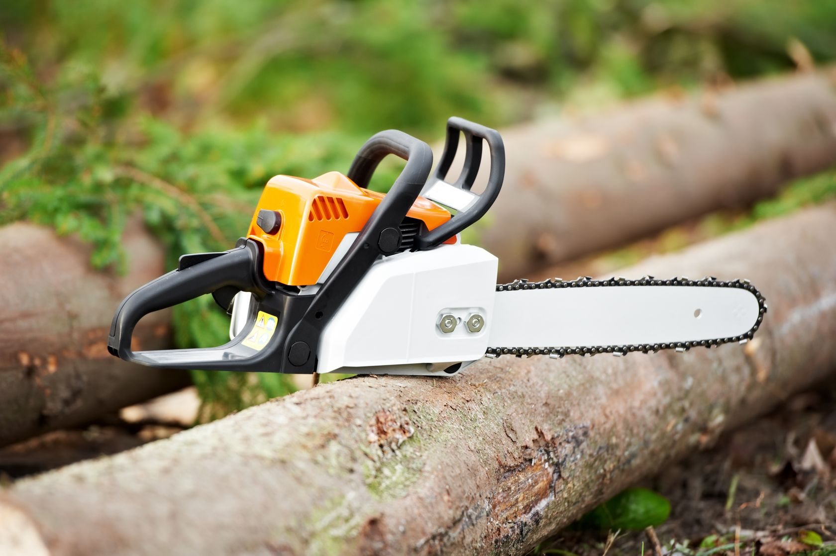 chainsaw tools garden