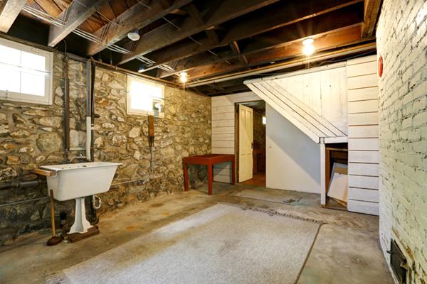 Dampness in basement
