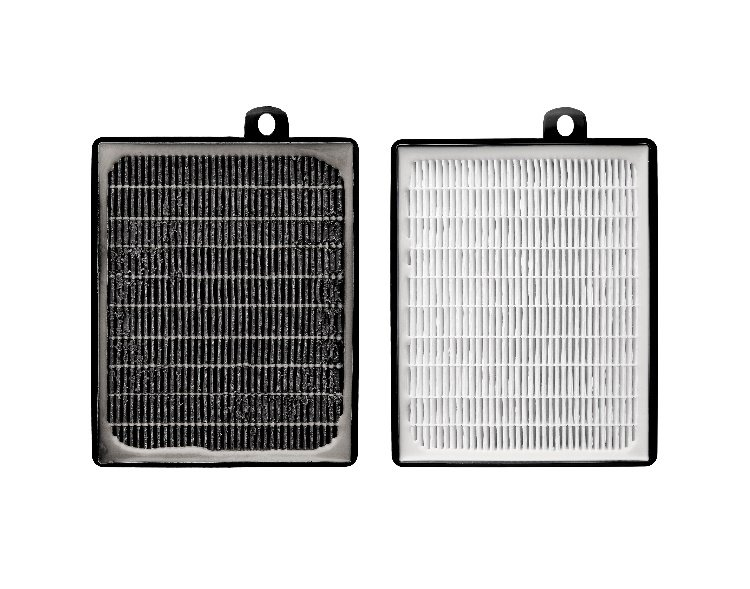 Dirty air filter vs. clean air filter