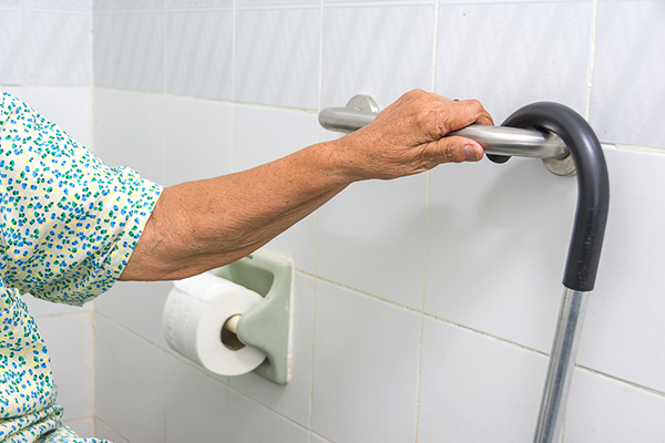 Elderly bathroom safety