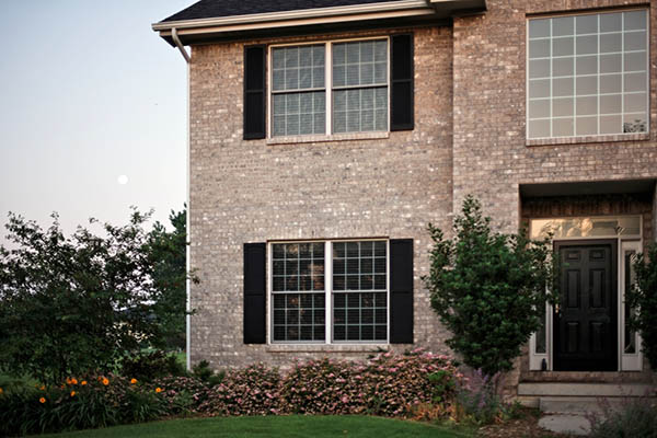 Double pane energy efficient windows