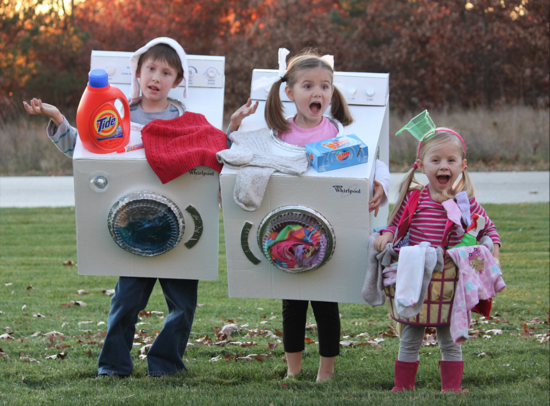 Dirty laundry family costume