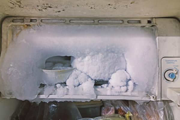 Freezer ice build up