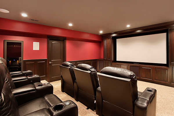 Home theater for special event