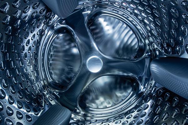 inside washer barrel