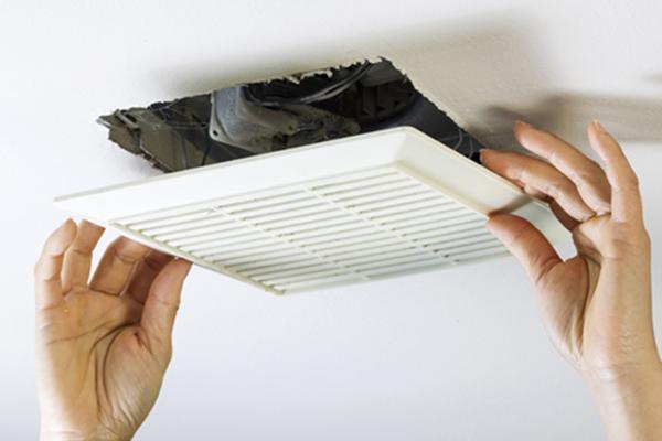 Install Or Replace A Bathroom Fan, Bathroom Exhaust Fan Installation