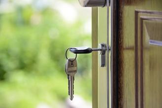 Keys in door locks