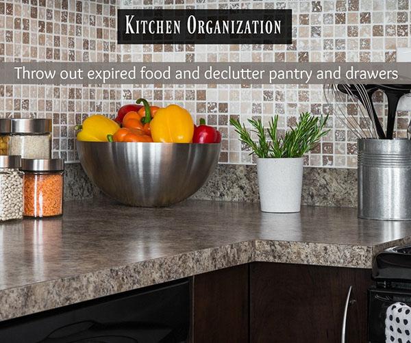 Kitchen organization hibernation