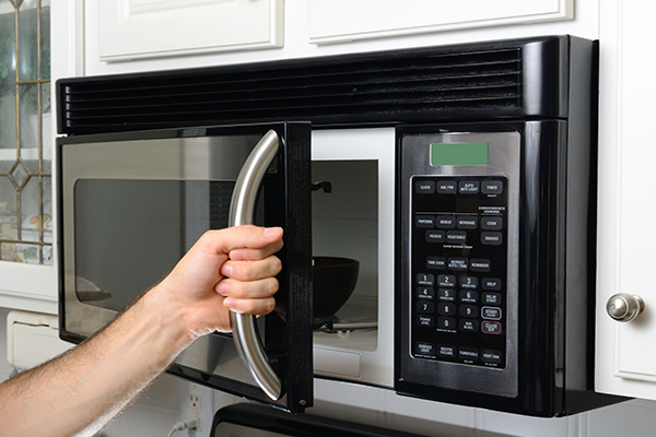 Microwave usage during holidays