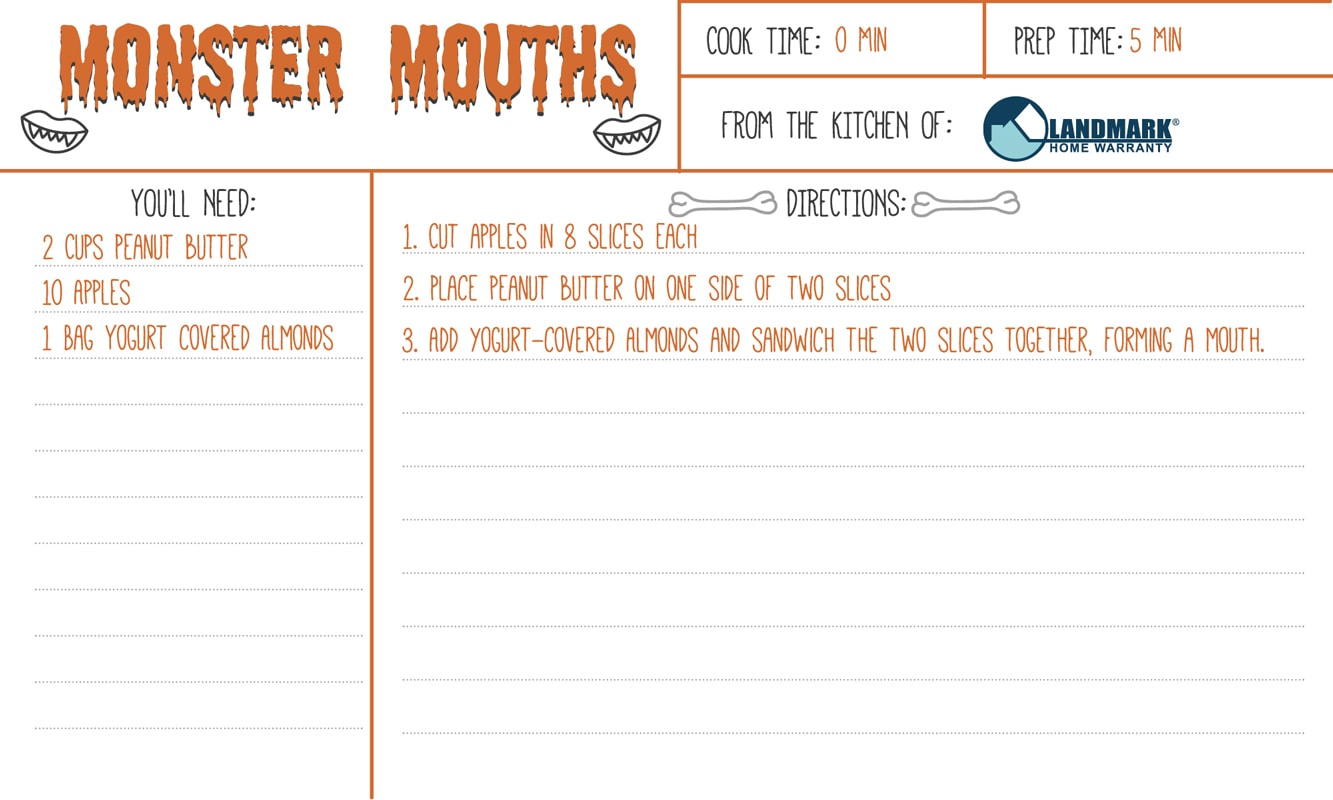 Monster Mouth Recipe