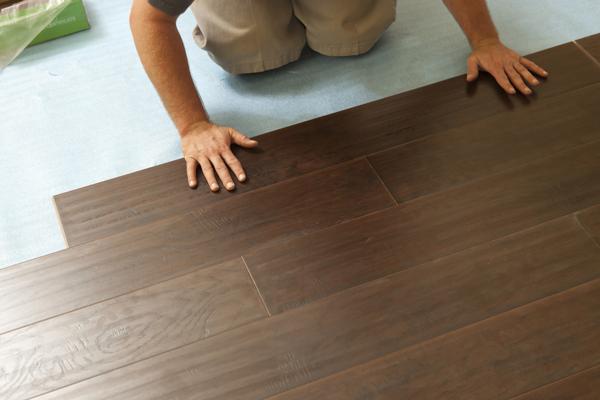 New wood flooring