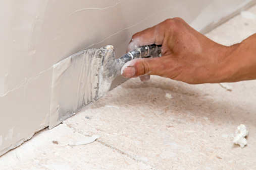How to patch a drywall
