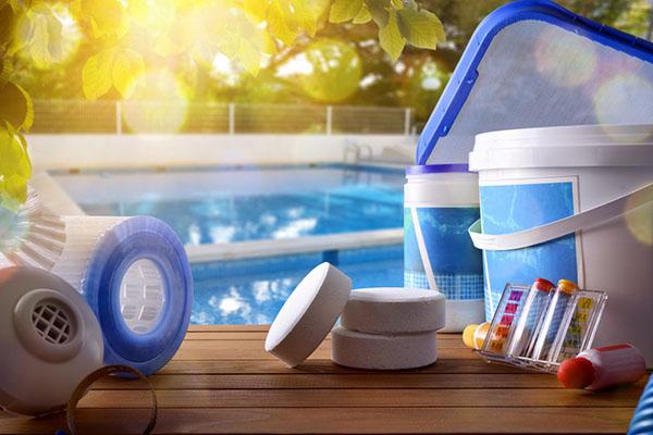 Pool chemicals and chlorine purposes