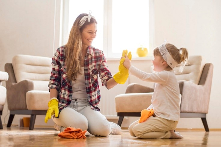 Transition your home by spring cleaning