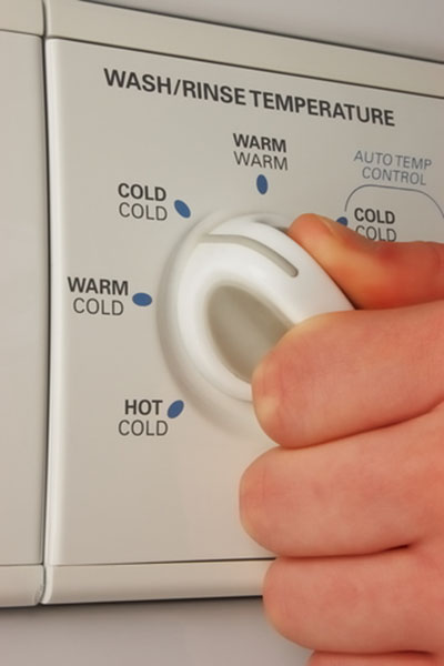 dishwasher turned to cold