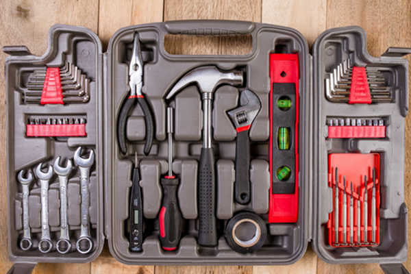 Red toolbox gifts for Valentines