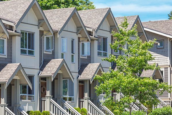Townhouses trend in housing market