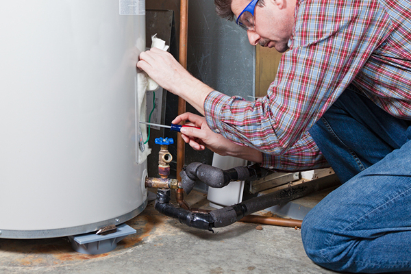water heater maintenance by contractor