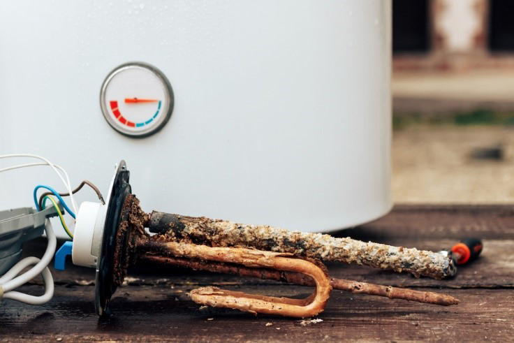 Water heater rust