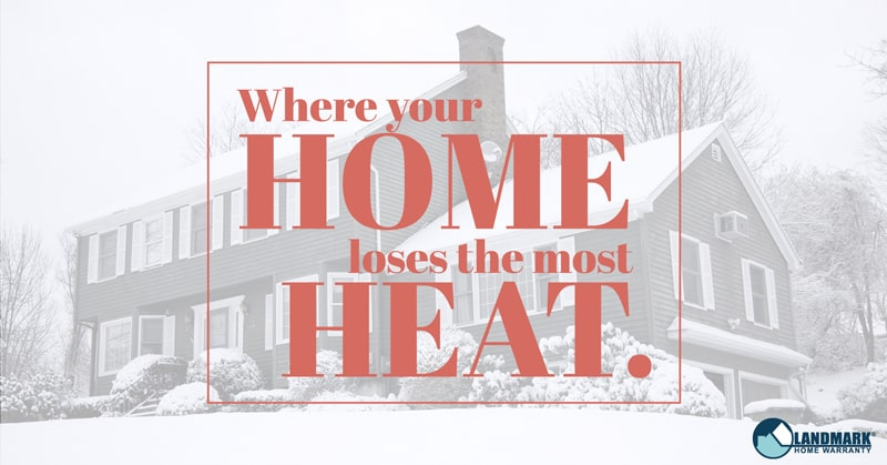 Where your home loses heat header