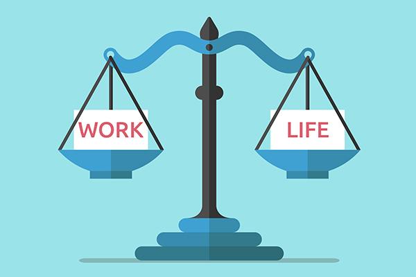 Work Life scale balanced