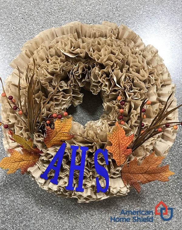 Coffee wreath final AHS