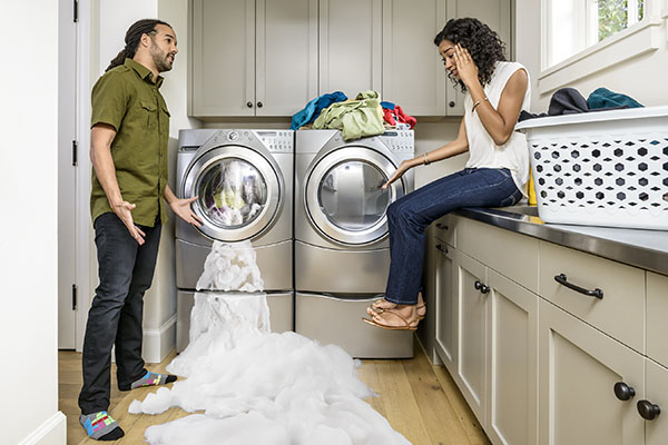 American Home Shield Home Warranty Protects a Broken Washer