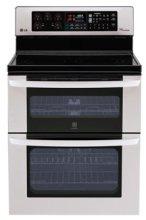LG double-oven range