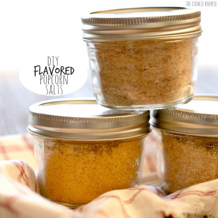 DIY popcorn salts