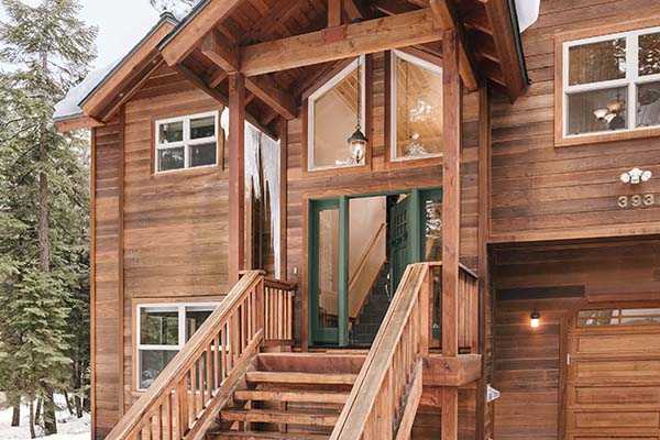 Cabin Style Home
