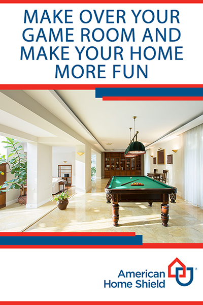Make over your game room and make your home more fun