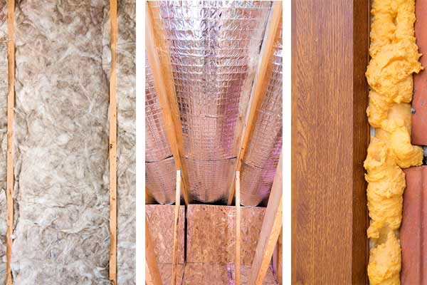 Home insulation Used to Heat Home