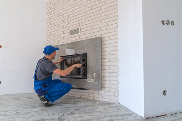 Installing Ventless Fireplace