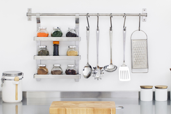Small Kitchen Solutions- Containers