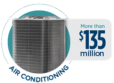 Air Conditioning Claims Paid