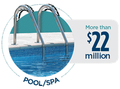 Pool/Spa Claims Paid