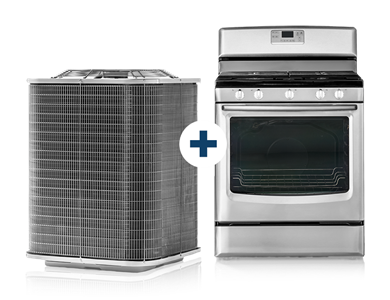 A/C Unit and Stove - Covered Under AHS Combo Plan Home Warranty