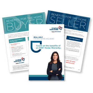 American Home Shield Flyers for Real Estate